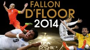 Fallon d'Floor: Anugerah Tertinggi Untuk Penerjun Dalam Bola Sepak Ini Dimenangi ...