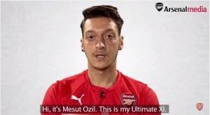 11 Pemain Terbaik Pilihan Mesut Ozil