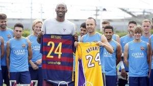 Kobe Bryant: Bola Sepak Bantu Saya Hasilkan Assist Dalam Bola Keranjang