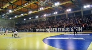 Penyokong Dinamo Zagreb Boikot Pergi Stadium, Sokong Pasukan Futsal Pula
