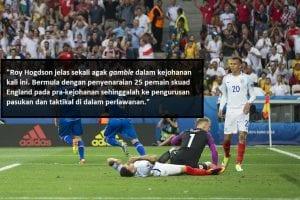 5 Sebab Kegagalan England Dalam Piala Eropah 2016