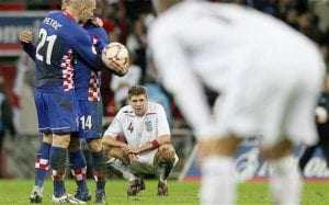 England 2-3 Croatia: Di Mana Kesebelasan England Yang Gagal Layak Ke EURO 2008?
