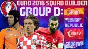 Previu Piala Eropah 2016: Kumpulan 'Maut' D Temu 4 Pasukan Top 30 Ranking Dunia