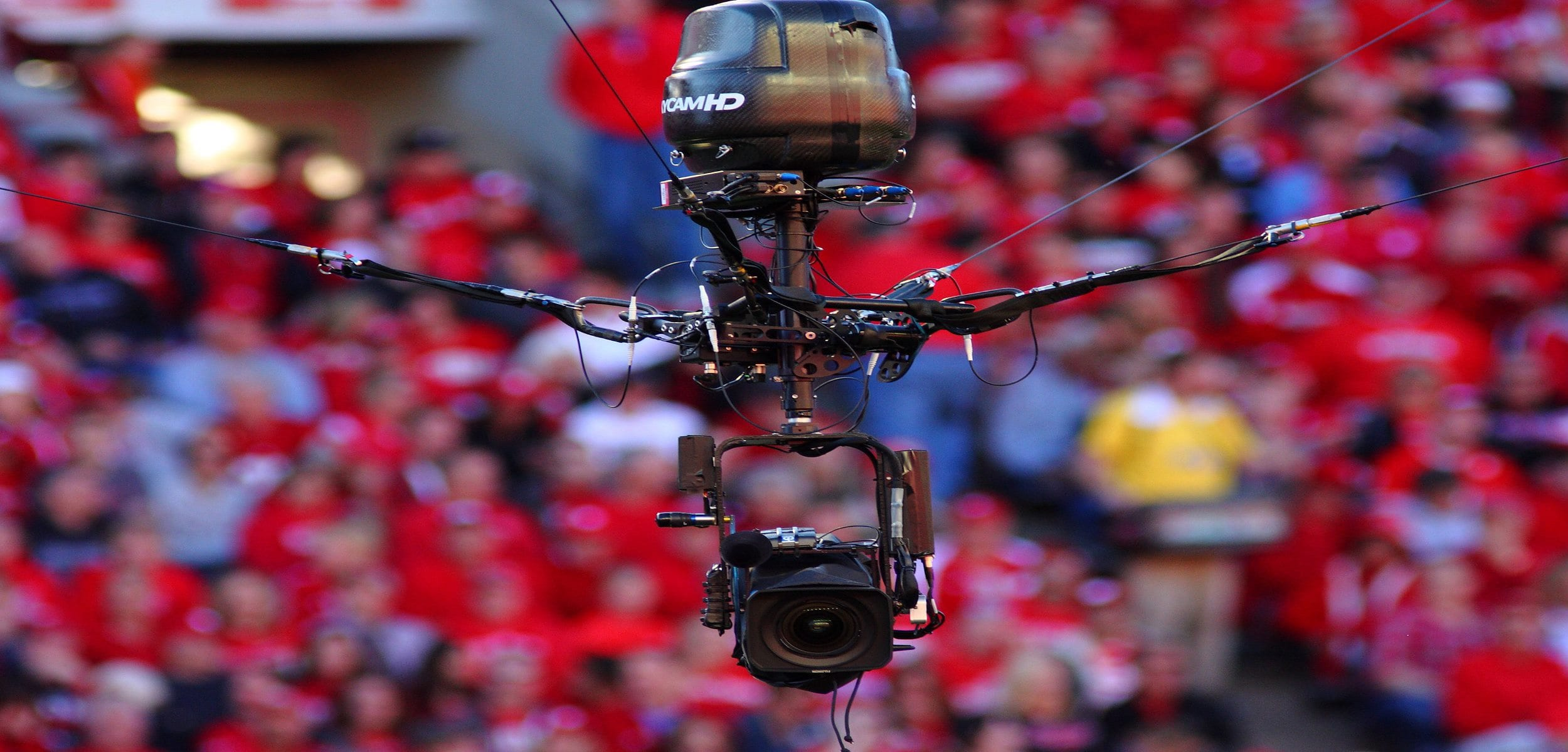 Spidercam, Sang Labah Labah Yang Memberikan Pengalaman Tontonan Luar Biasa