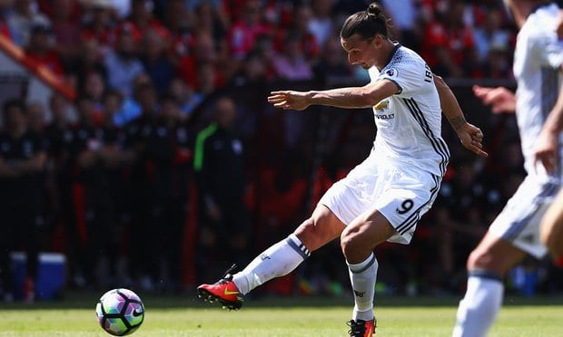 Manchester United Benam Bournemouth Di Tempat Lawan-Zlatan Dan Mourinho Teruskan ...