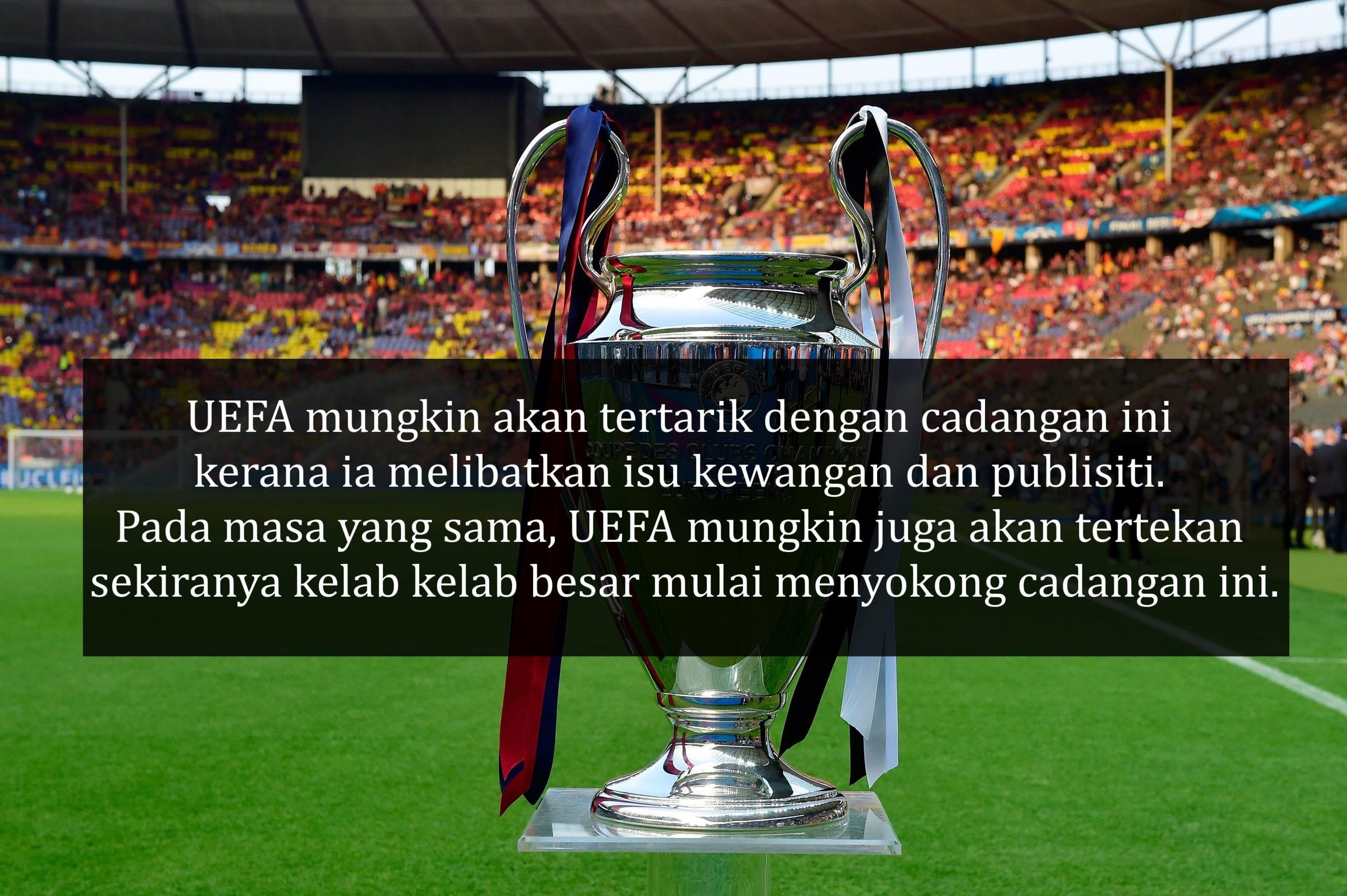 UEFA Super League Adalah Liga Untuk Duit, Pilih Kasih Kepada Kelab Besar?