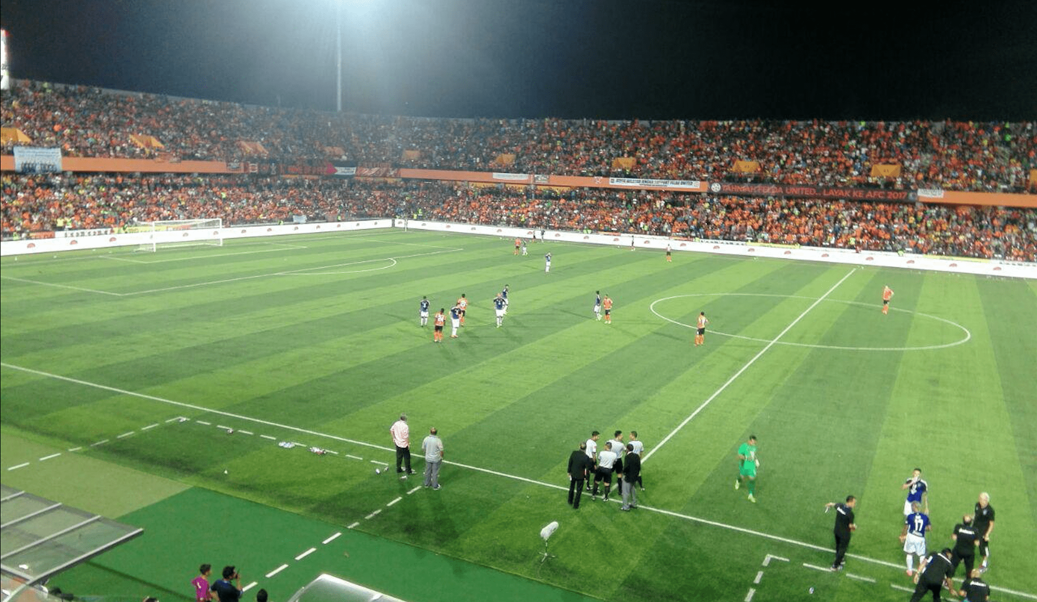 Stadium Tun Abdul Razak: Matchday Experience FELDA United vs JDT Yang Gila