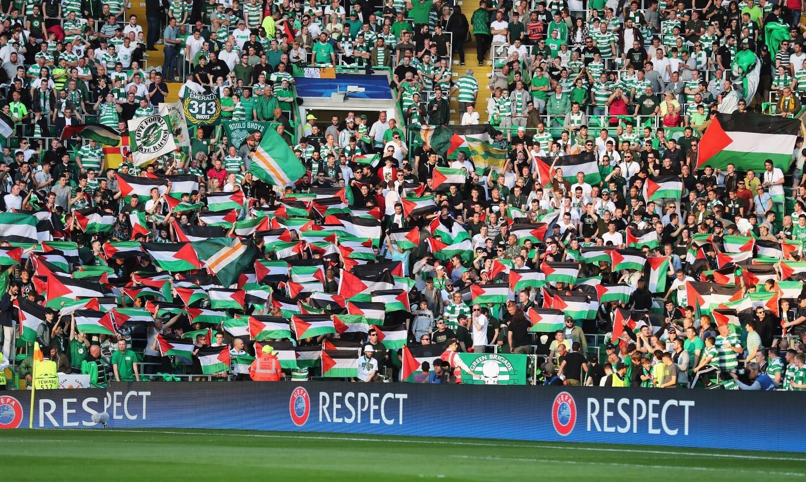 Dihukum UEFA Kibar Bendera Palestin, Penyokong Celtic Kumpul Lebih Banyak Duit  ...