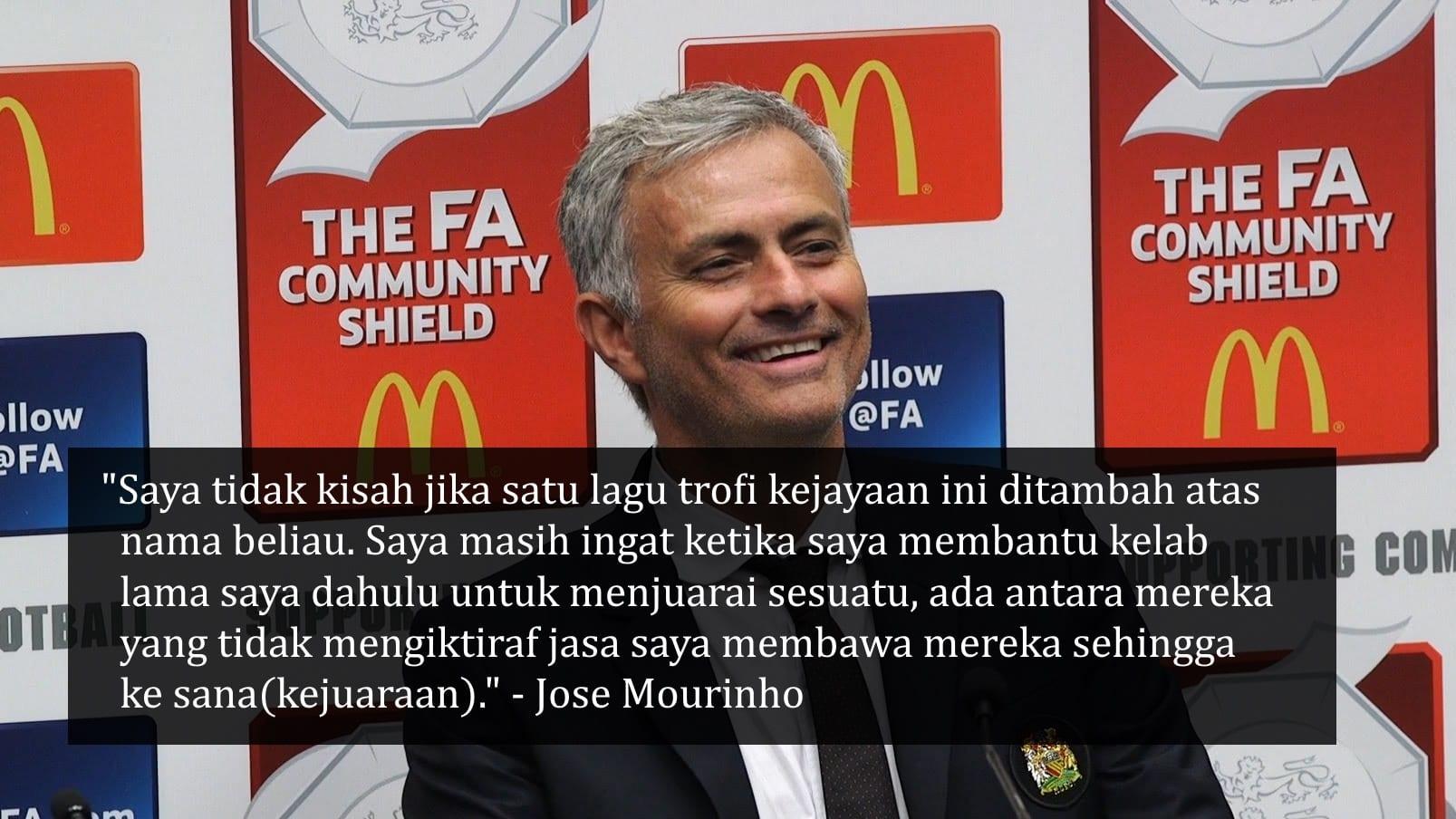 Mourinho: Kemenangan Ini Untuk Van Gaal