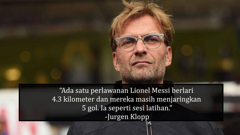 Klopp Label EPL Lebih Kompetitif, Yakin Barca Boleh Bermain 50% Perlawanan Liga  ...