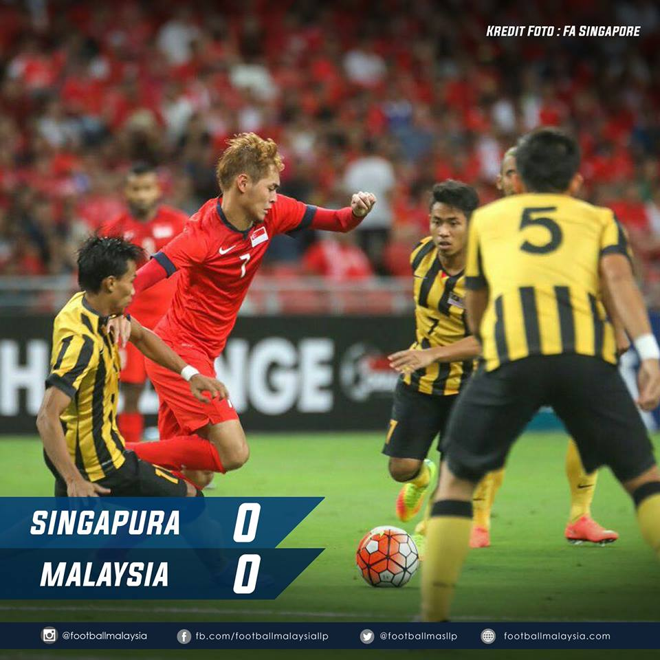 5 Perkara Daripada Perlawanan Persahabatan Singapura v. Malaysia