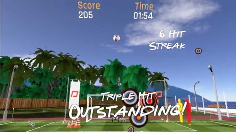 Hat Trick Header: Permainan Virtual Reality Pertama Berasaskan Bola Sepak