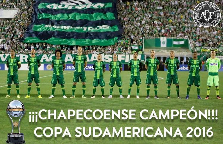 Rasmi! Chapecoense Juara Copa Sudamericana 2016, Atletico Menang Anugerah Fair  ...