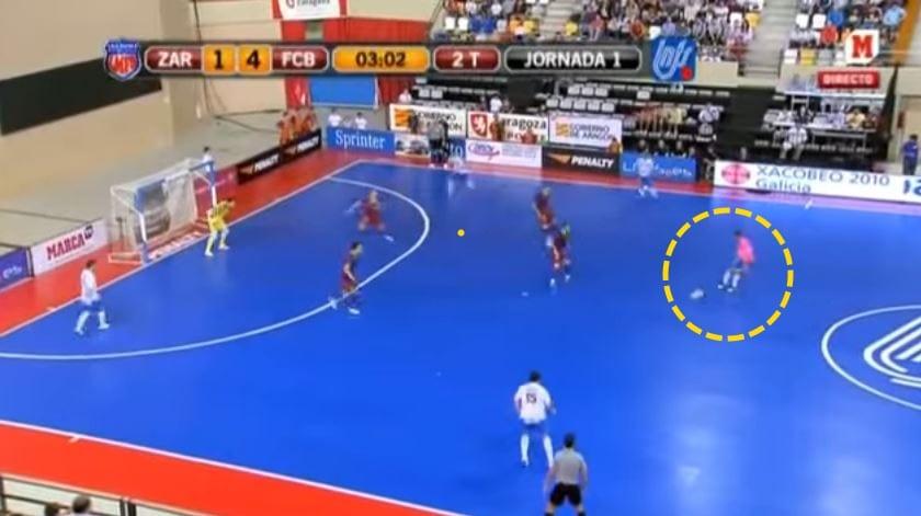 Flying Goalkeeper Dalam Futsal, Pelan Tambahan Terbaik Atau Risiko