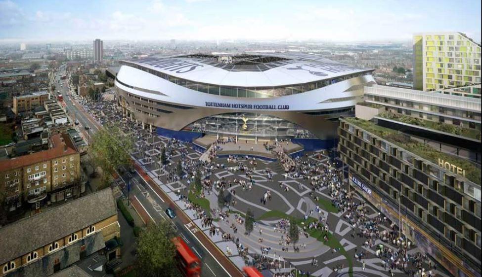 Stadium Baru Tottenham Hotspur Dilengkapi Teknologi Menggandakan Bunyi Bising