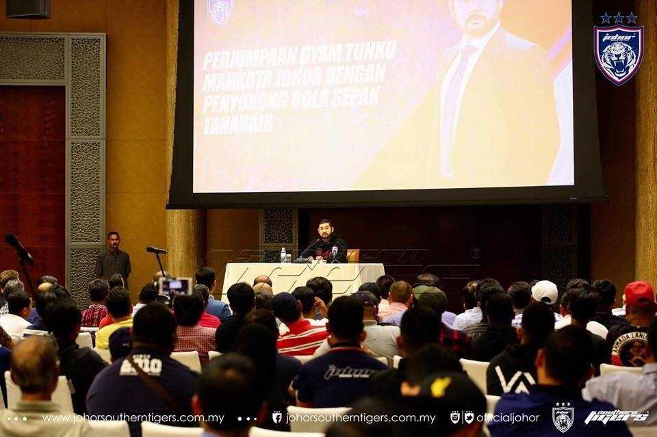 TMJ Mahu 'Bersihkan' FAM, Ingin Beri Mandat Kepada Rakyat Untuk Pilih Presiden