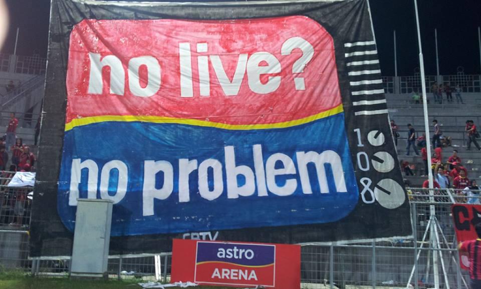 """TMJ suarakan isu tiada """"Live"""" perlawanan bola sepak pasukan Sarawak"""