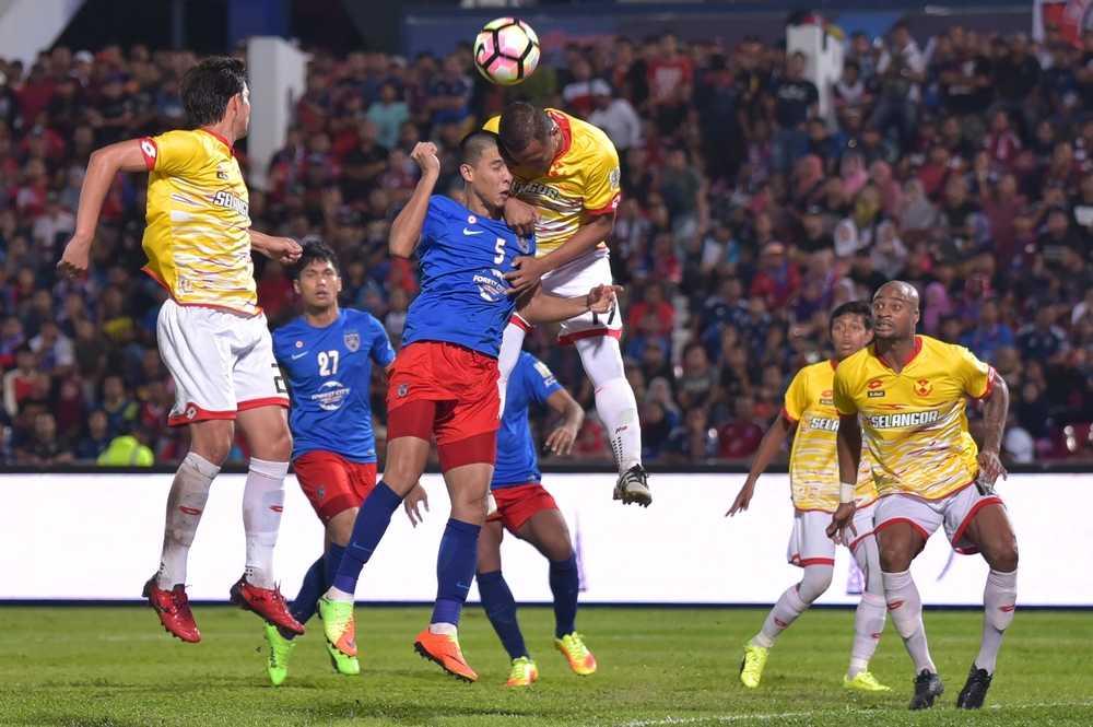 JDT Diikat Selangor Di Larkin, Brian Ferreira Gagal Sempurna Penalti