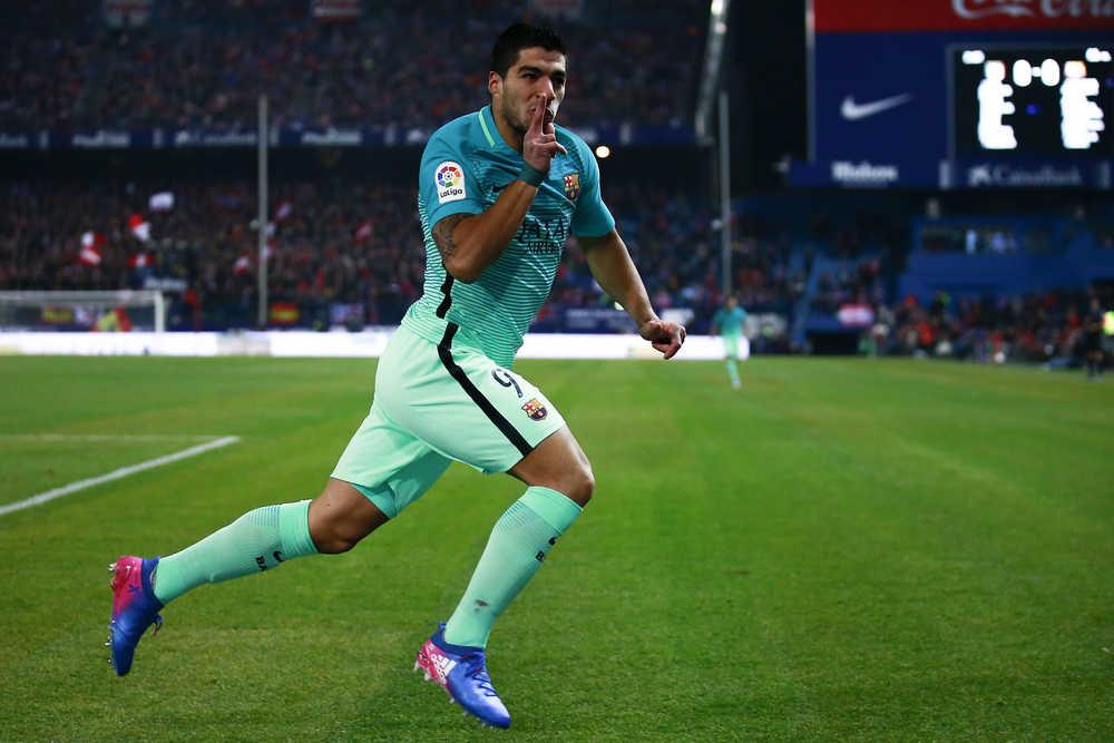 Barcelona Tewaskan Atletico Madrid, Luis Suarez Jaring Gol Solo Menarik