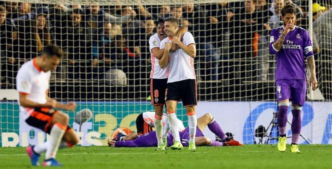 Zaza Dan Orellana Bantu Valencia Kejutkan Real Madrid
