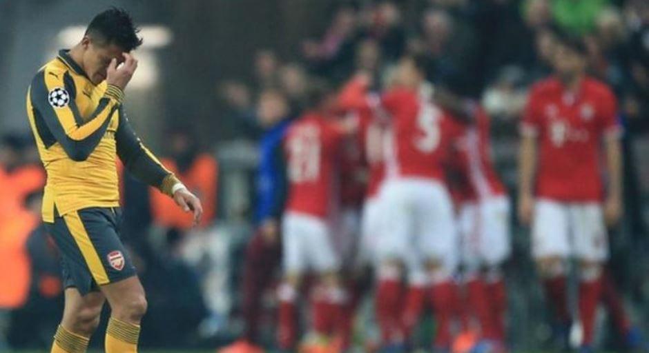 Bayern Munich Membelasah Arsenal 5-1 Di Allianz Arena