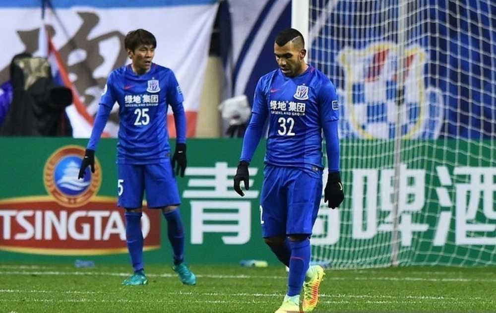 Tevez Tewas Ketika Perlawanan Pertamanya Bersama Shanghai Shenhua