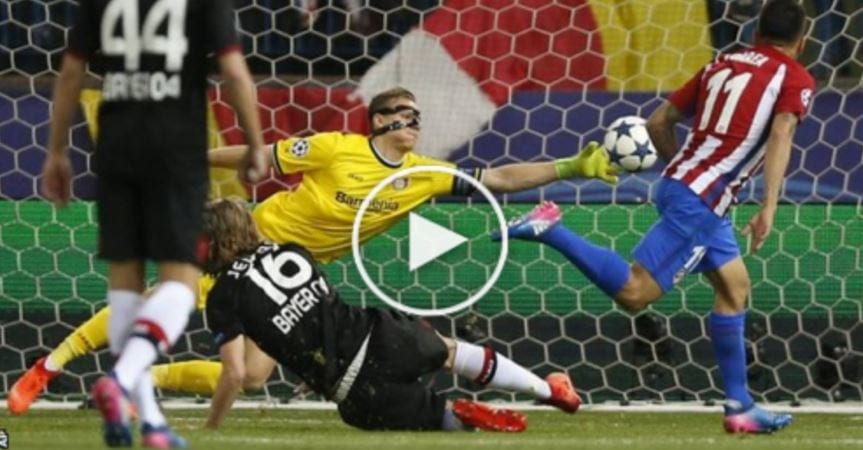 Rangkuman UCL 2016/17: Atletico Madrid 0 Bayer Leverkusen 0 (agg. 4-2)
