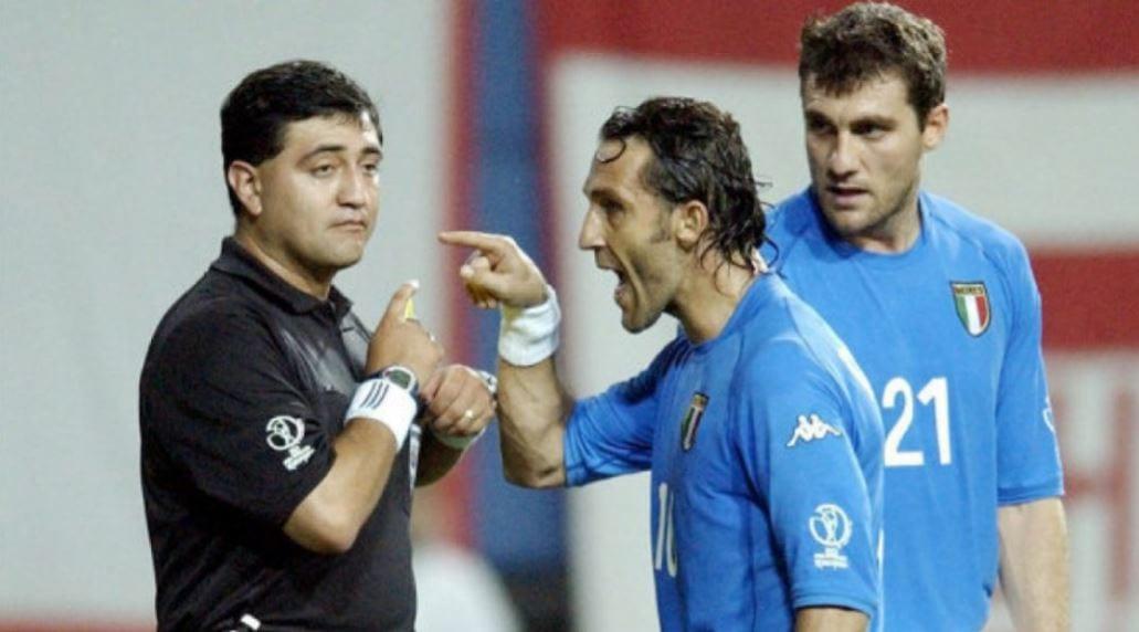 Byron Moreno Pengadil Kontroversi Yang Singkirkan Itali Dan Kisah Tragis Ke  ...