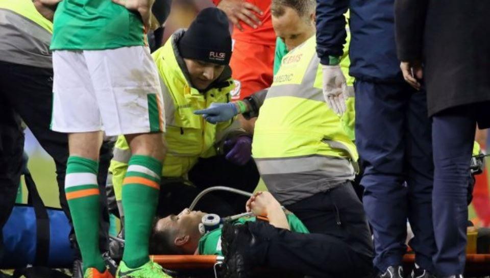Seamus Coleman Patah Kaki Dalam Perlawanan Kelayakan Piala Dunia