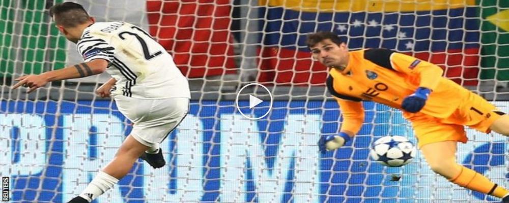 Rangkuman UCL 2016/17: Juventus 1 Porto 0 (Agg 3-0)