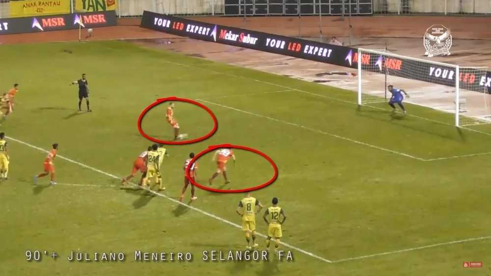 Pihak KFA Dijangka Buat Bantahan Ke Atas Gol Penalti Selangor Kepada FAM