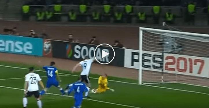 Rangkuman Kelayakan WC2018: Azerbaijan 1 Jerman 4, Mario Gomez Kembali Jaringkan ...