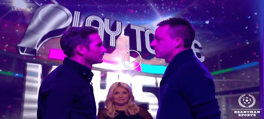 VIDEO: Lampard & Terry Bertarung Siapa Tak Kelip Mata Paling Lama