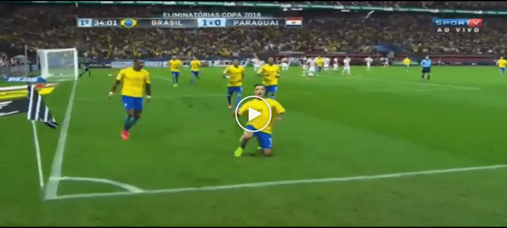 VIDEO: Highlight Kelayakan Piala Dunia Zon Amerika Selatan (Brazil 3-0 Paraguay)