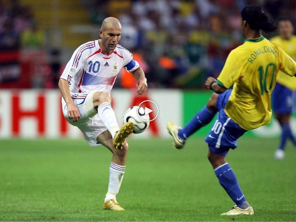 VIDEO: Zidane Mengajar Skuad Brazil Cara Bermain Bola Sepak Sebenar Pada 2006