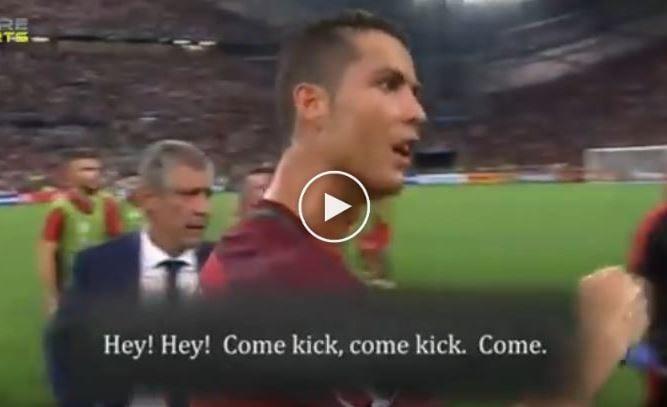Video: Cristiano Ronaldo Beri Semangat Kepada Moutinho Ambil Penalti