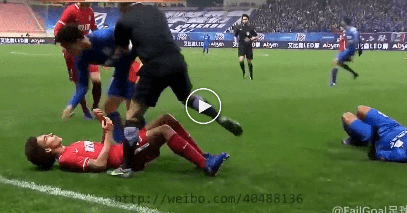 Video: Babak Hodoh Shanghai Senhua vs. Tianjin Quanjian, Liga Semakin Mahal  ...