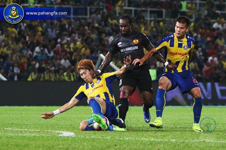 Gol Faisal Rosli Selamatkan Pahang Dari Dimalukan Selangor Di Darul Makmur