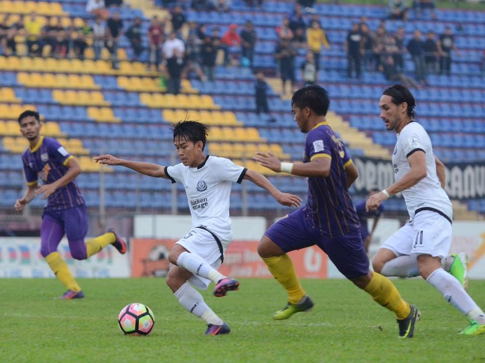 UiTM FC Belasah Terengganu 4-0, Akanni Sunday Jaringkan 2 Gol
