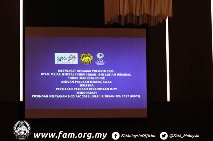 Presiden FAM Temui Ahli Gabungan, Wakil Kelab Dan Pasukan Buat Julung Kalinya.