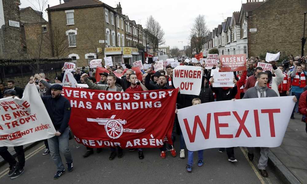 Peminat Arsenal Lancar Panduan Bagaimana Nak Pastikan Wenger Letak Jawatan