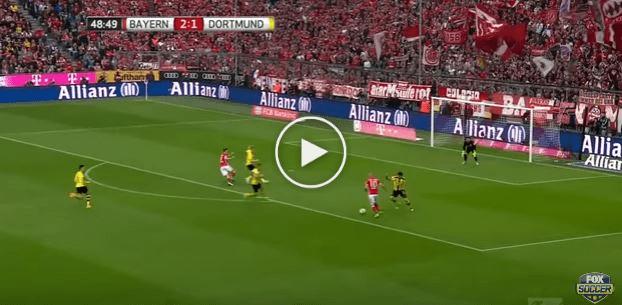 Highlight Der Klassiker: Bayern 4 Dortmund 1, Robbery Menyumbangkan 2 Gol!
