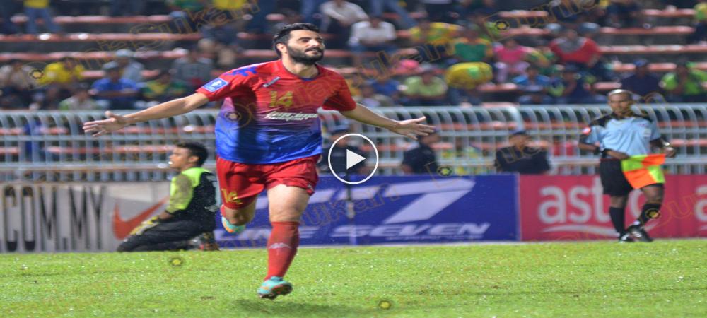 VIDEO: Koleksi Gol Dani Guiza Semasa Bergelar Pemain JDT