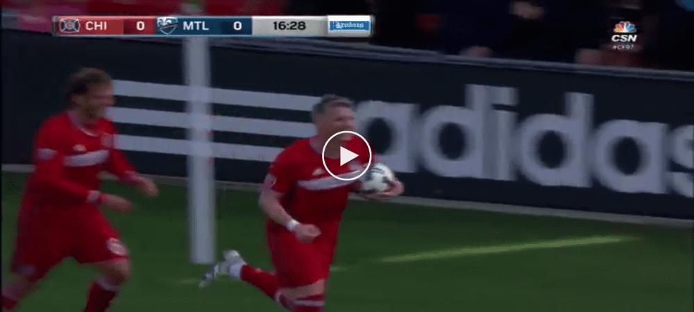 VIDEO: Gol Sulung Bastian Schweinsteiger Di Saingan Major League Soccer