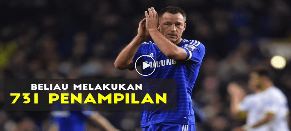 VIDEO: Perjalanan Karier John Terry Bersama Pasukan Chelsea