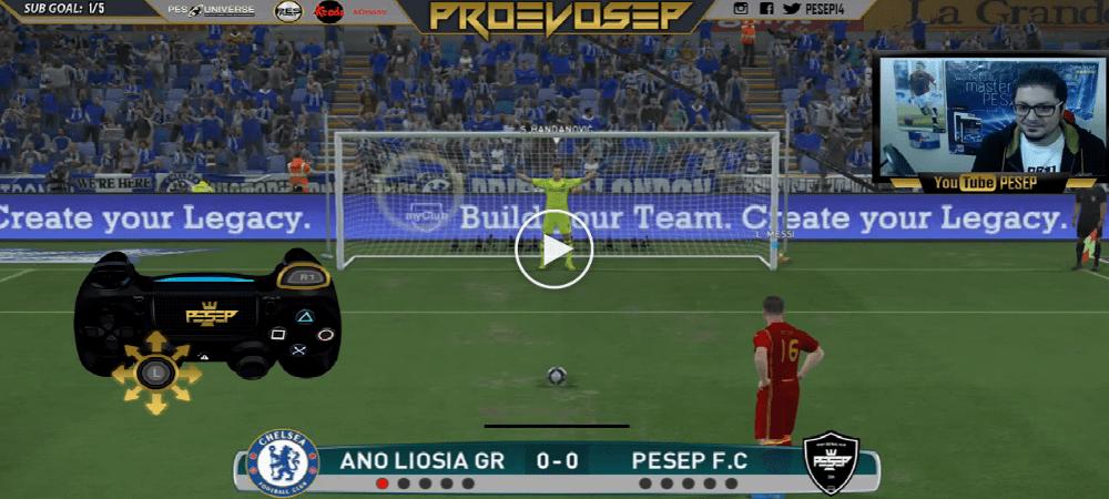 VIDEO: Tutorial Mengambil Sepakan Penalti Di PES2017