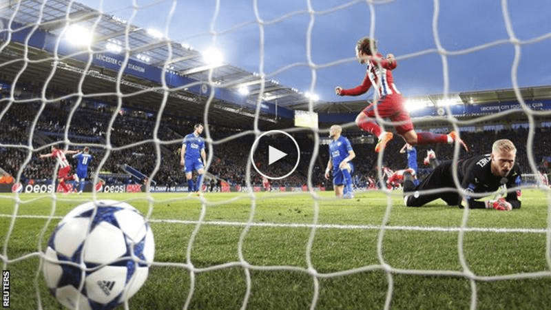 Highlight: Leicester 1 Atletico Madrid 1  (agg. 1-2), Berakhirnya Impian UCL The ...