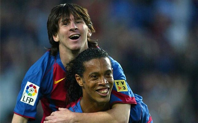 Video Pendek Menghargai 500 Gol Lionel Messi Untuk Barcelona