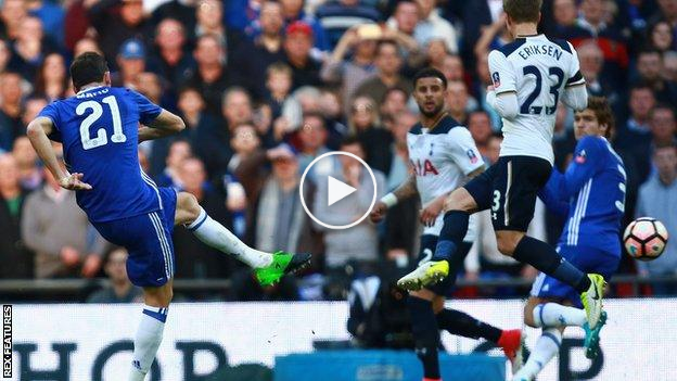 Highlight: Chelsea 4 Tottenham Hotspurs 2, Conte Dan The Blues Ke Final Piala  ...