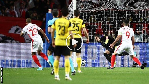 Highlight: Monaco 3 Borussia Dortmund 1 (agg 6-3)